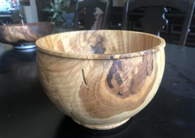 Chinese Chestnut Bowl