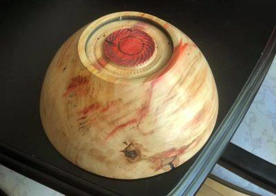 Flame Box Elder Bowl 5